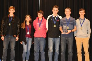$18,000 in scholarships awarded to local high school students in Marion Mathematics Challenge