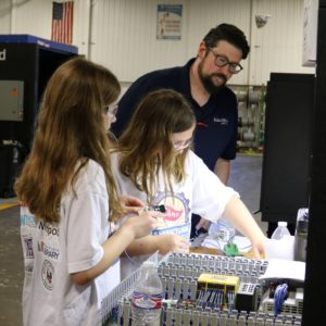 Rockets and Robots: Hands-on Fun at Manufacturing Camp