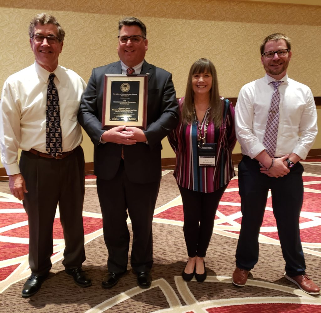 Marion Technical College Director Receives Statewide Award from Ohio Attorney General